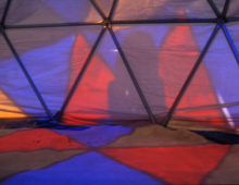 Obligatory Geodesic Dome:  Colordome