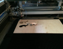 Lasersaur, the open source hardware laser cutter